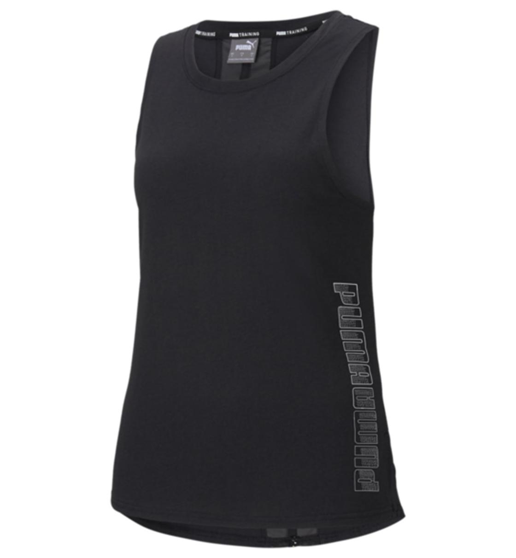Puma Γυναικεία Αμάνικη Μπλούζα Ss21 Logo Muscle Tank 520405