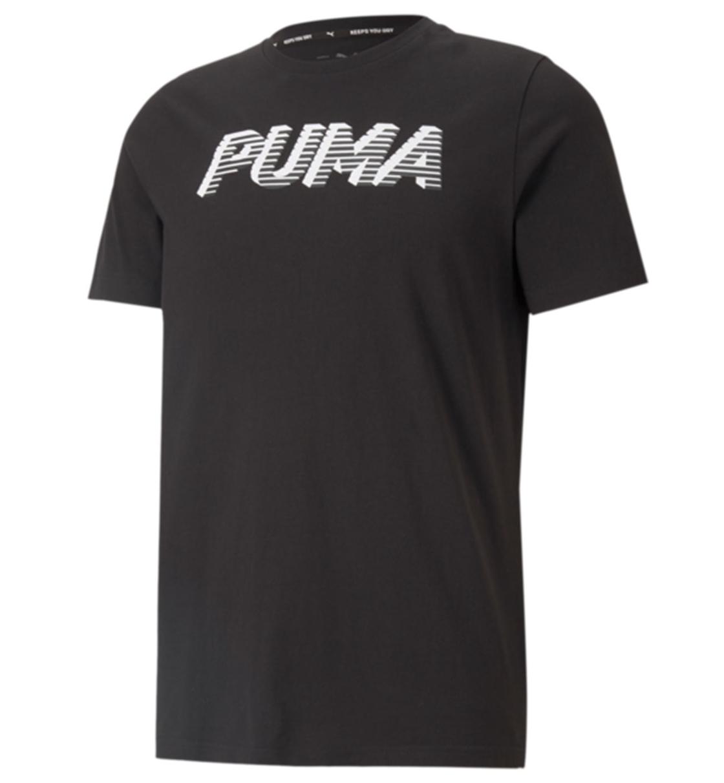 Puma Ανδρική Κοντομάνικη Μπλούζα Ss21 Sports Logo Tee 585818