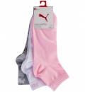 Puma Fw20 Puma Kids Quarter 3P Sock
