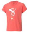 Puma Παιδική Κοντομάνικη Μπλούζα Ss21 Modern Sports Logo Tee G 586192