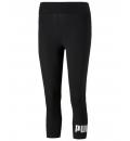 Puma Γυναικείο Αθλητικό Κολάν Κάπρι Ss21 Ess 3/4 Logo Leggings 586828