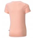 Puma Παιδική Κοντομάνικη Μπλούζα Ss21 Ess Logo Tee G 587029
