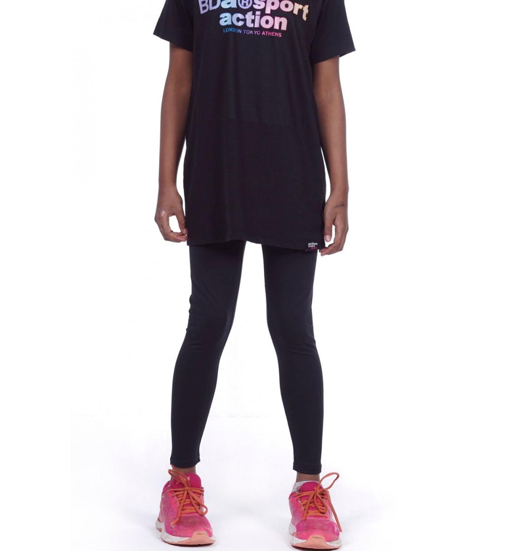 Body Action Παιδικό Αθλητικό Κολάν Ss20 Girls Basic Leggings 012001