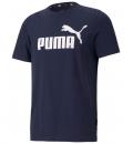 Puma Ανδρική Κοντομάνικη Μπλούζα Ss21 Ess Logo Tee 586666