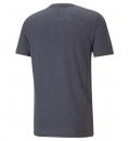 Puma Ανδρική Κοντομάνικη Μπλούζα Ss21 Ess Heather Tee 586736
