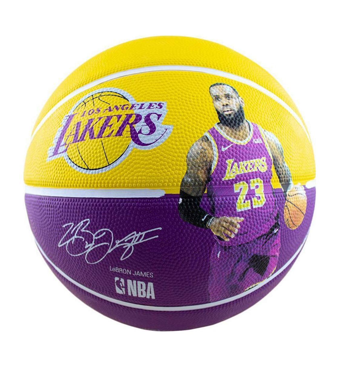 Spalding Ss21 New Nba Player Lakers Lebron James Size 7