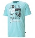 Puma Ανδρική Κοντομάνικη Μπλούζα Ss21 Puma Box Tee 587765