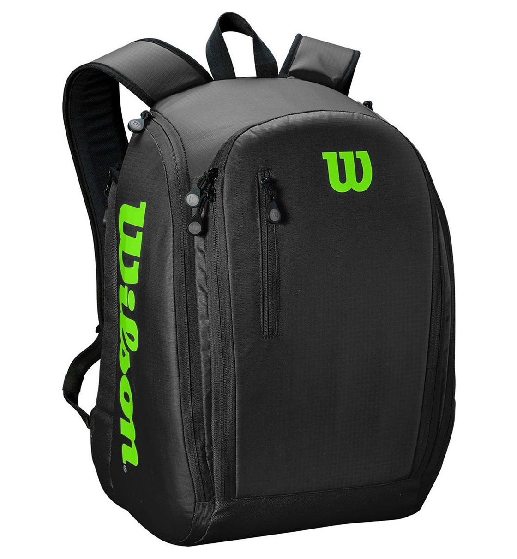 Wilson Σακίδιο Πλάτης Ss21 Tour Backpack Black/Green WR8002201001