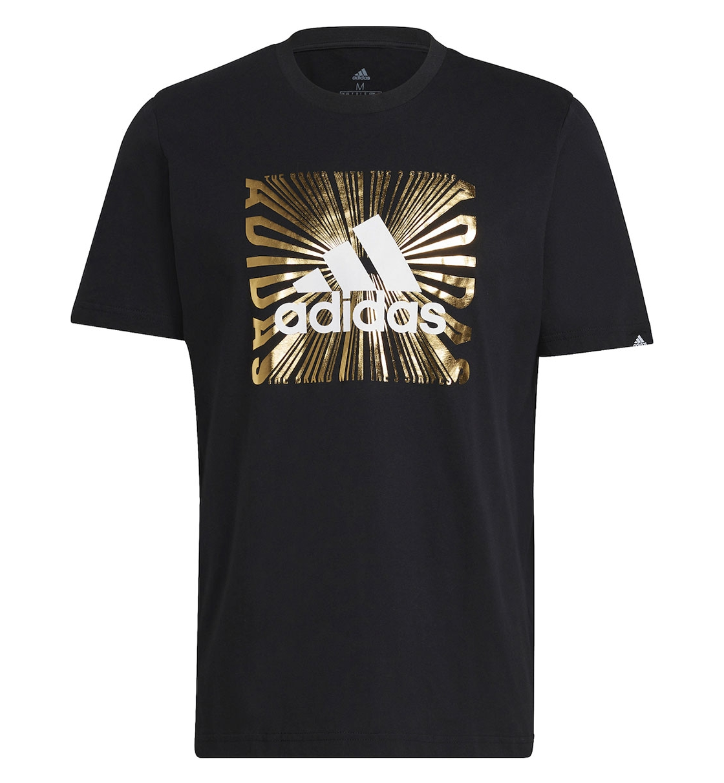adidas Ανδρική Κοντομάνικη Μπλούζα Ss21 Men Extrusion Motion Foil Tee GL2393