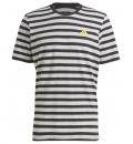adidas Ανδρική Κοντομάνικη Μπλούζα Ss21 Essentials Stripy T-Shirt GK9140