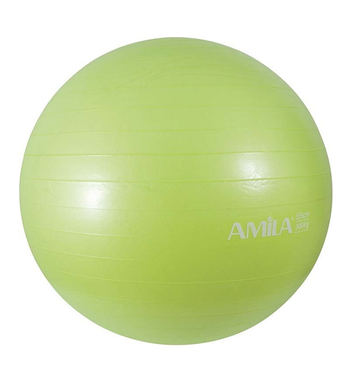 Amila Μπάλα Γυμναστικής Fw19 Μπάλα Γυμναστικής 55Cm 950Gr - Πράσινη - Σε 48411