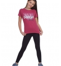 Body Action Γυναικείο Αθλητικό Κολάν Ss21 Girl'S Basic Leggings 012101