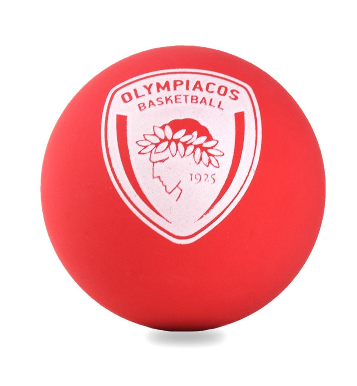 Spalding Λαστιχένιο Μπαλάκι Ss21 Spalding Hi-Bounce Spaldeen - Olympiakos (24P 51-303Z1