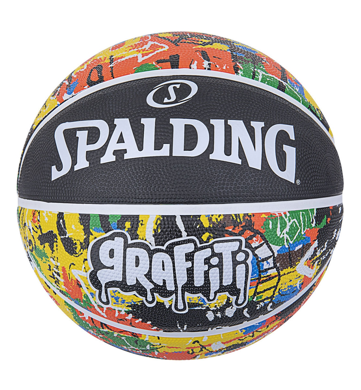 Spalding Ss21 Spalding Rainbow Graffiti Sz7 Rubber Basketball