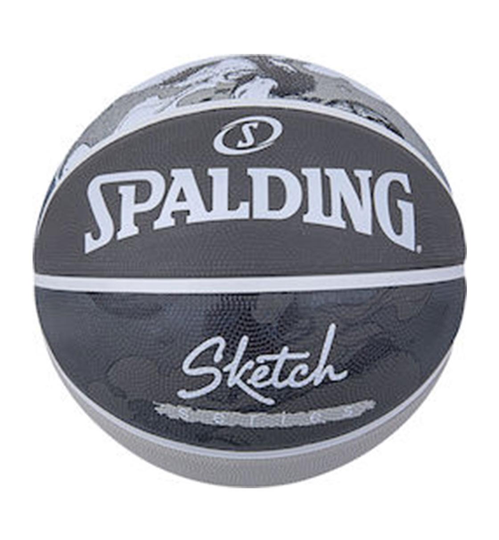 Spalding Ss21 Spalding Sketch Jump Sz7 Rubber Basketball