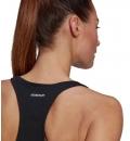 adidas Γυναικεία Αμάνικη Μπλούζα Ss21 Power Slogan Graphic Tank GL0932