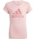 adidas Παιδική Κοντομάνικη Μπλούζα Ss21 Adidas Girls Essentials Big Logo Tee GN4065
