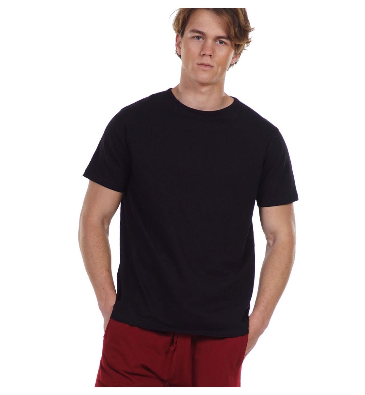 Body Action Ανδρική Κοντομάνικη Μπλούζα Ss21 Men'S Crew Neck T-Shirt 053125