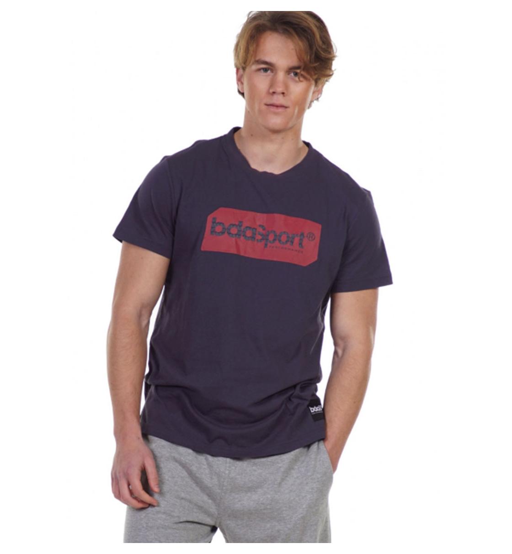 Body Action Ss21 Men'S Logo Tag T-Shirt