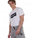 Body Action Ανδρική Κοντομάνικη Μπλούζα Ss21 Men'S Logo Tag T-Shirt 053132