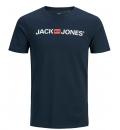 Jack & Jones Ανδρική Κοντομάνικη Μπλούζα Ss21 Jjecorp Logo Tee Ss Crew Neck Noos 12137126