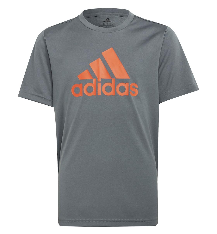 Adidas Ss21 Adidas Boys D2M Big Logo T-Shirt
