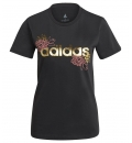 adidas Γυναικεία Κοντομάνικη Μπλούζα Ss21 Linear Foil Graphic T-Shirt GL0962