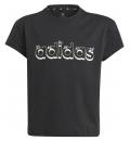 adidas Παιδική Κοντομάνικη Μπλούζα Ss21 Adidas Girls Graphic T-Shirt 2 GN1432