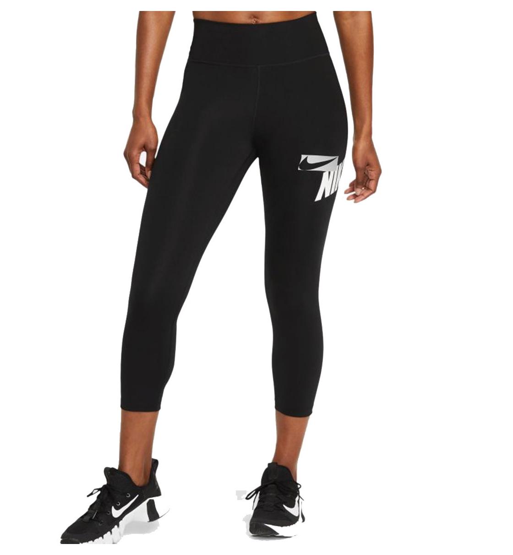 Nike Γυναικείο Αθλητικό Κολάν Κάπρι Ss21 Nike One Cropped Graphic CZ9202