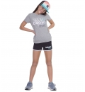 Body Action Παιδικό Αθλητικό Σορτς Ss21 Girl'S Athletic Shorts 032101