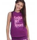 Body Action Παιδική Αμάνικη Μπλούζα Ss21 Girl'S Workout Vest 042101