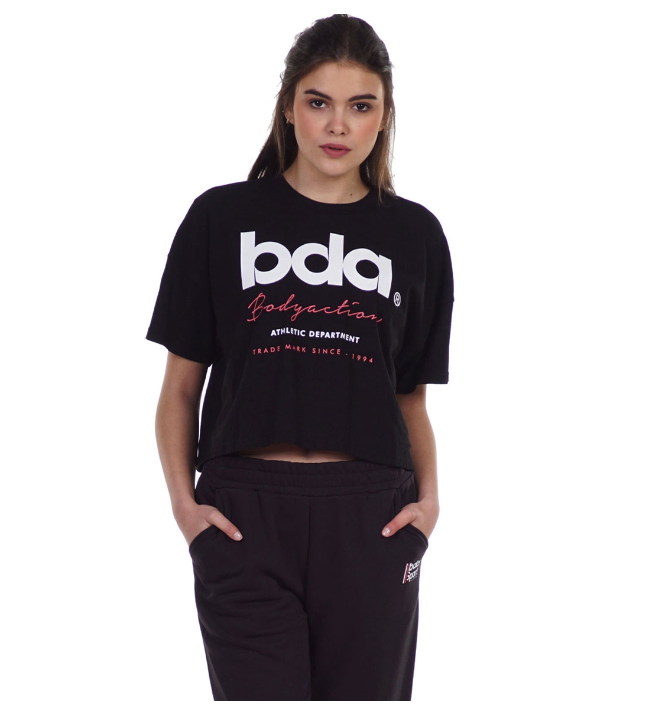 Body Action Γυναικεία Κοντομάνικη Μπλούζα Ss21 Women'S Crop Top 051129