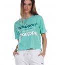 Body Action Γυναικεία Κοντομάνικη Μπλούζα Ss21 Women'S Cold Shoulder T-Shirt 051131