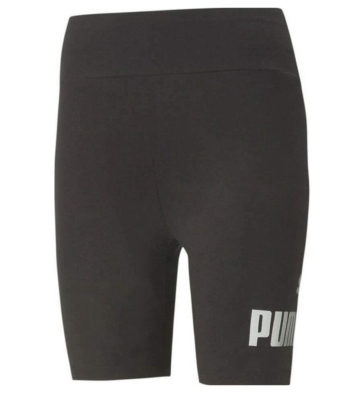 """Puma Ss21 Ess+ 7"""" Metallic Short Tights"""