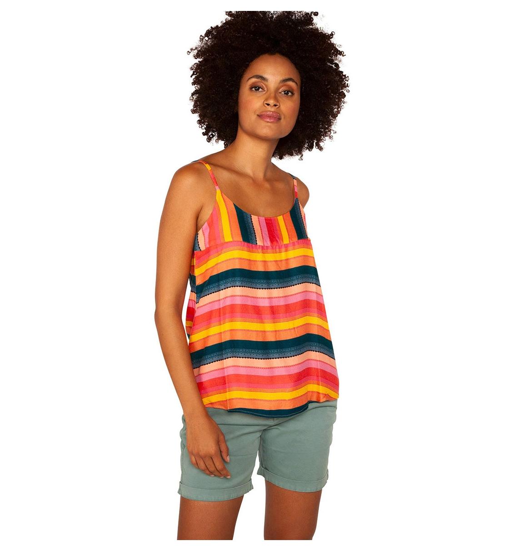 Protest Γυναικεία Αμάνικη Μπλούζα Ss21 Atlantis Spaghetti Top S1612201