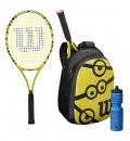 Wilson Σετ Τένις Fw21 Minions 25 Junior Kit WR064310F001