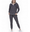 Body Action Fw20 Women Fur Lined Hoodie