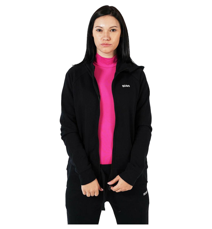 Body Action Γυναικεία Ζακέτα Με Κουκούλα Fw20 Women Fleece Full Zip Hoodie 071017