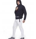 Body Action Fw20 Men Full Zip Hoodie