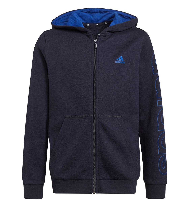 Adidas Fw21 Adidas Boys Essentials Logo Full-Zip Hoodie