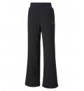 Puma Γυναικείο Αθλητικό Παντελόνι Ss21 Ess+ Embroidered Wide Pants Fl 587904