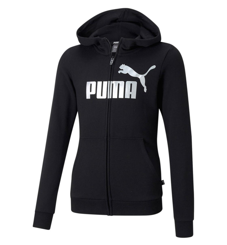 Puma Fw21 Ess+ Logo Full-Zip Hoodie Tr G