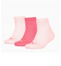 Puma Αθλητικές Κάλτσες Κοντές Fw20 Puma Kids Quarter 3P Sock 907375
