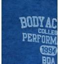 Body Action Ανδρική Κοντομάνικη Μπλούζα Men Slim Fit S/S Henley Shirt 053723