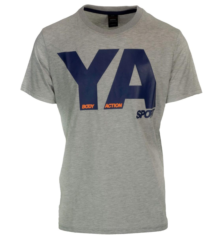 Body Action Ανδρική Κοντομάνικη Μπλούζα Men Slim Fit S/S T-Shirt 053724