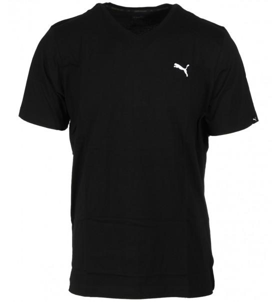 Puma Ανδρική Κοντομάνικη Μπλούζα Ess V-Neck Tee 838239 ff77c3a942f