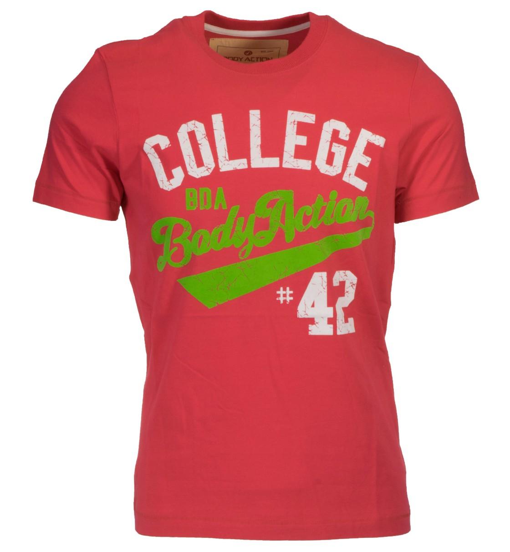 Body Action Ανδρική Κοντομάνικη Μπλούζα Men Slim Fit S/S T-Shirt 053502