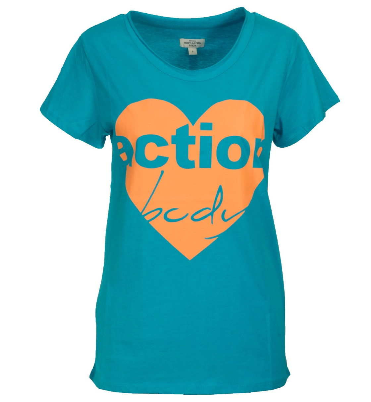 Body Action Γυναικεία Κοντομάνικη Μπλούζα Women Oversized S/S T-Shirt 051515