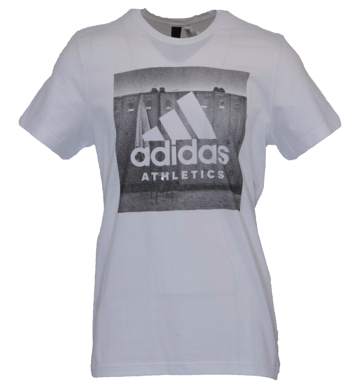 adidas Ανδρική Κοντομάνικη Μπλούζα Category Ath BK2793