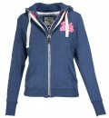 Body Action WOMEN NECK COLLAR HOODIE JACKET